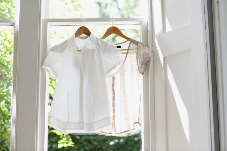 beforehand: Blouses on Hangers