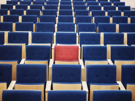 repetitious: One Red Seat