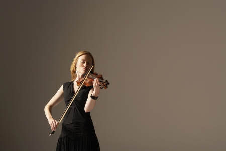 Woman Playing Violin Stock Photo - 18885268