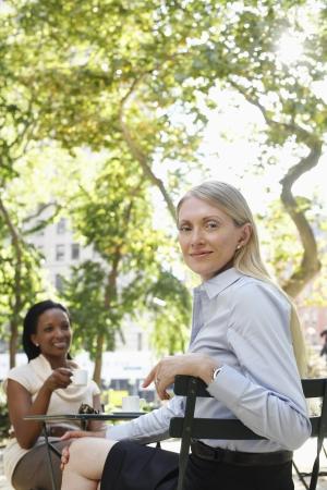 business roles: Businesswomen Outdoors