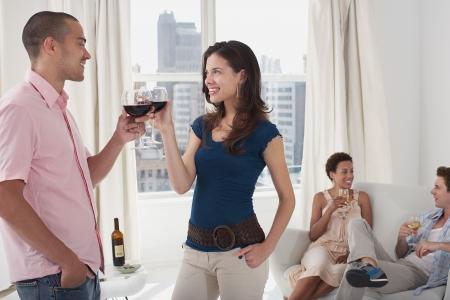 mingle: Young Adults Socializing