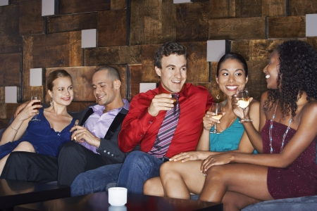 conversational: Friends Socializing