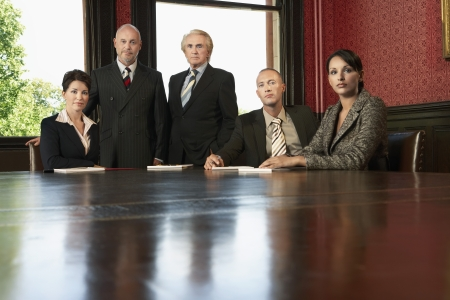 Boardroom meeting: Lawyers in Conference Room LANG_EVOIMAGES