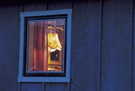 domesticity: View into Window of Home