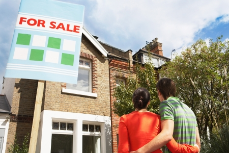 Couple Buying Home Together Stock Photo - 19327060