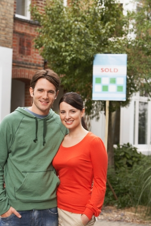 Couple Buying Home Together Stock Photo - 19213779