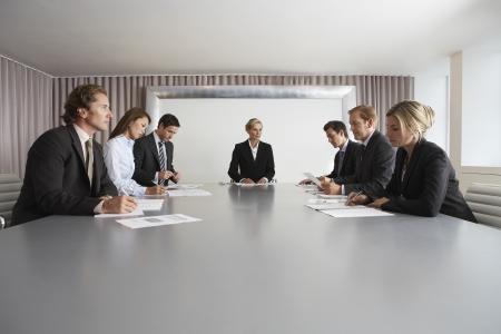 pensamiento estrategico: Empresarios Reunión, en la Sala