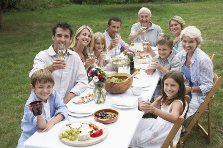 picnicking: Family Picnic