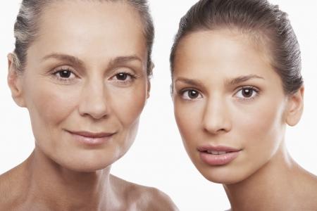 middle age woman: Two Beautiful Women