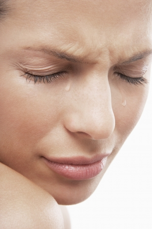 cried: Young Woman Crying