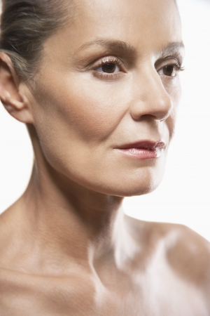 late forties: Face of Healthy Woman