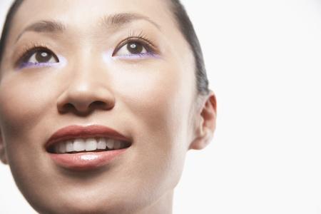 silhouettable: Volto di donna sana