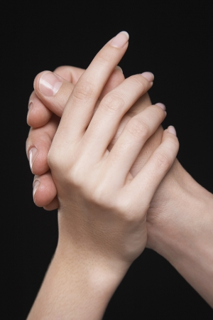 silhouettable: Male and Female Hands