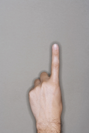 silhouettable: Pointing Finger