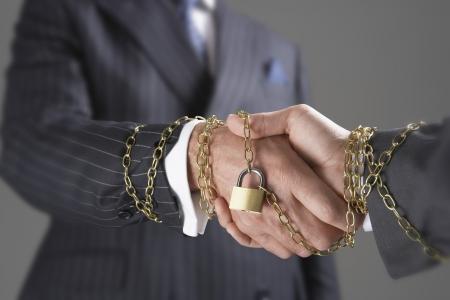 handshakes: Businessmen Shanking Hands