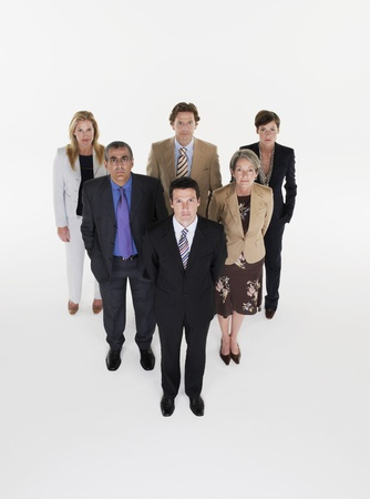 silhouettable: Group of Businesspeople