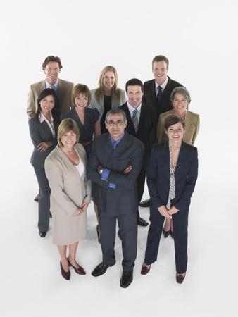 silhouettable: Gruppo di uomini d'affari LANG_EVOIMAGES