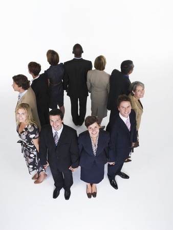 Group of Businesspeople Holding Hands Stock Photo - 18896360