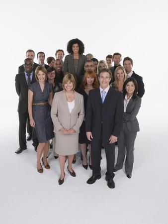 relaciones laborales: Grupo de empresarios