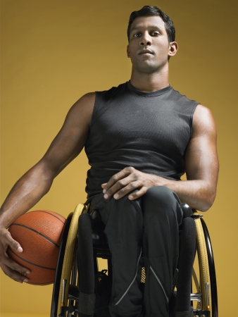 paraplegico: Parapl?jicos Jugador de baloncesto LANG_EVOIMAGES