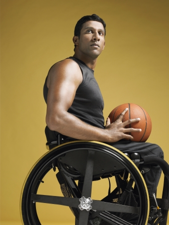 paraplegico: Parapl�jicos Jugador de baloncesto