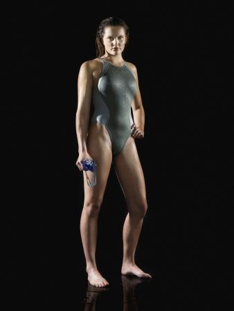 willpower: Female Swimmer