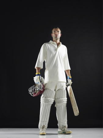 willpower: Male Cricket Player