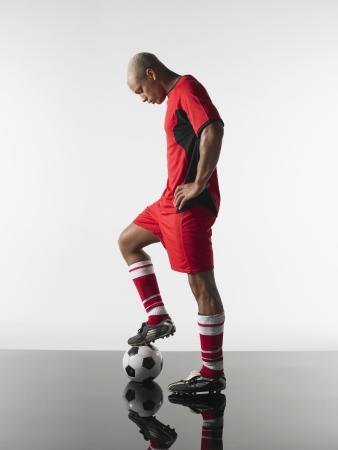 fútbol jugador: Jugador de fútbol