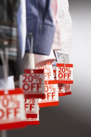 Clothing on Sale Stock Photo - 18896714