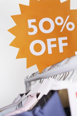 marked down: Clothing on Sale