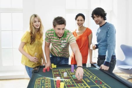 silhouettable: Amici Gioco d'azzardo