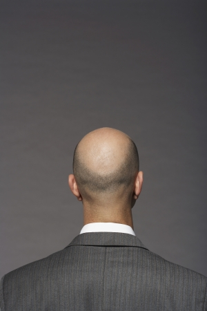 bald head: Businessman with Bald Head