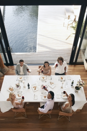 Dinner Party Stock Photo - 19546285