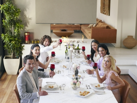 Dinner Party Stock Photo - 19546286