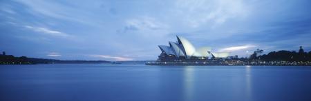 Sydney Harbor und Opera House