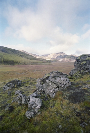 remoteness: Rough Rocks in a Mountain Valley