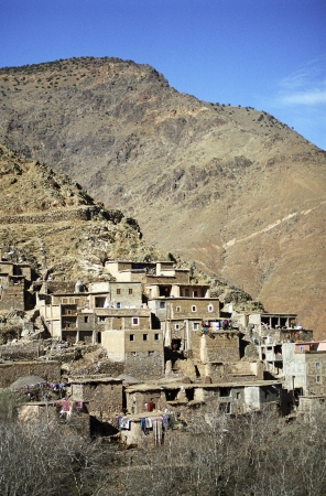aridness: Houses in a Desert Town