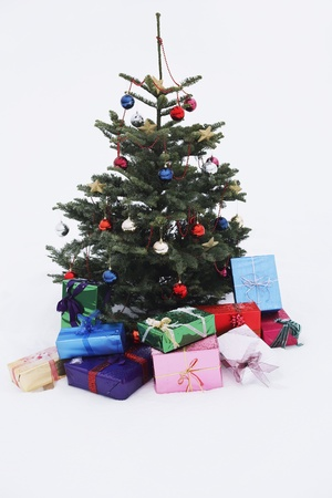 chrismas: Gifts Under Christmas Tree