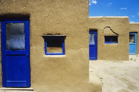 sameness: Adobe Buildings