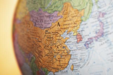 chinese map: Globe