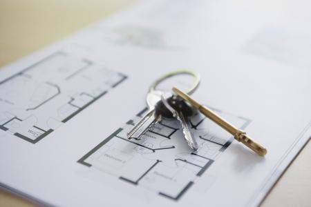 floorplan: Keys on a Floor Plan