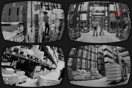 People in Surveillance Camera Stock Photo - 19079018