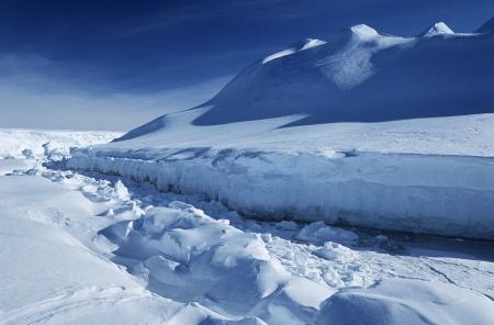 weddell: Antarctica Weddell Sea Riiser Larsen Ice Shelf