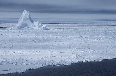 weddell: Antarctica Weddell Sea iceberg in ice field LANG_EVOIMAGES