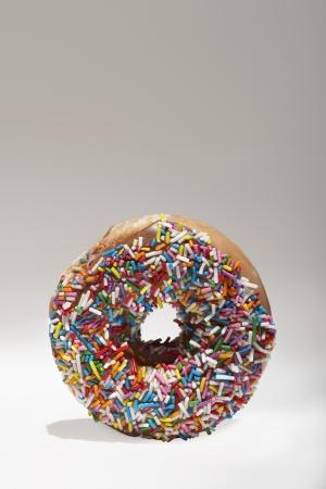 jimmies: Rainbow sprinkles on doughnut LANG_EVOIMAGES