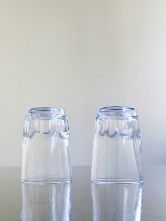 uncluttered: Two Drinking Glasses
