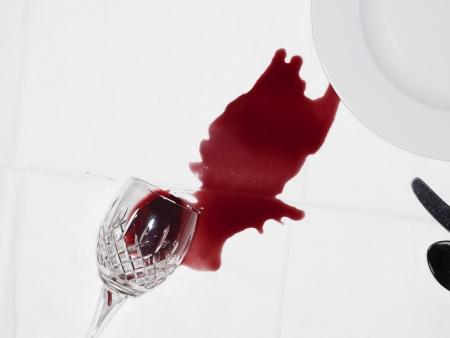こぼれたワイン 写真素材 - 20715344