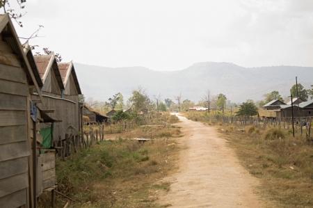 backroad: Dirt Road in Village