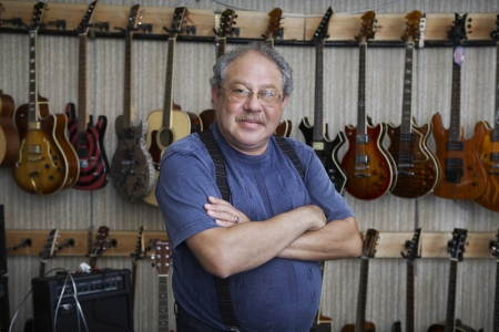 55 years old: Music Store Owner