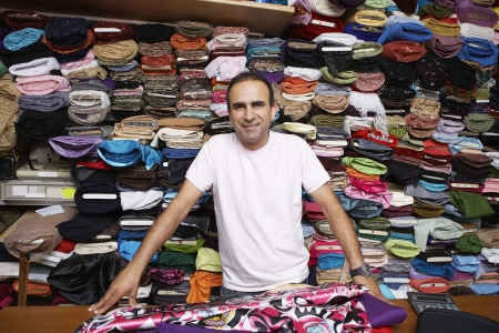 40 to 45 years old: Fabric Store Worker
